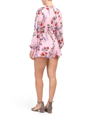 c33ad51ee0e Floral Need You Now Romper - Jumpsuits   Rompers - T.J.Maxx