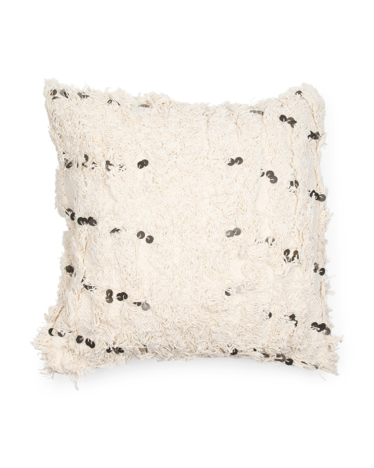 Made In India 18x18 Tangiers Moroccan Style Wedding Pillow