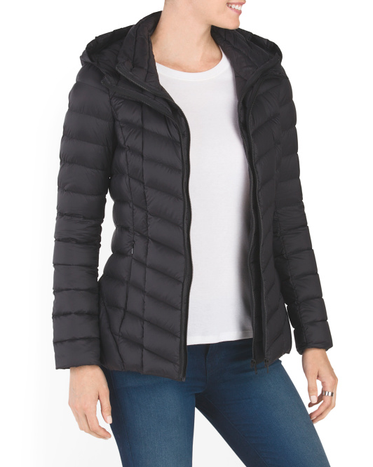 Elfy Cropped Down Jacket
