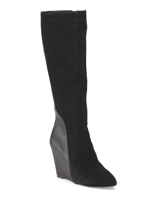 High Shaft Wedge Boot