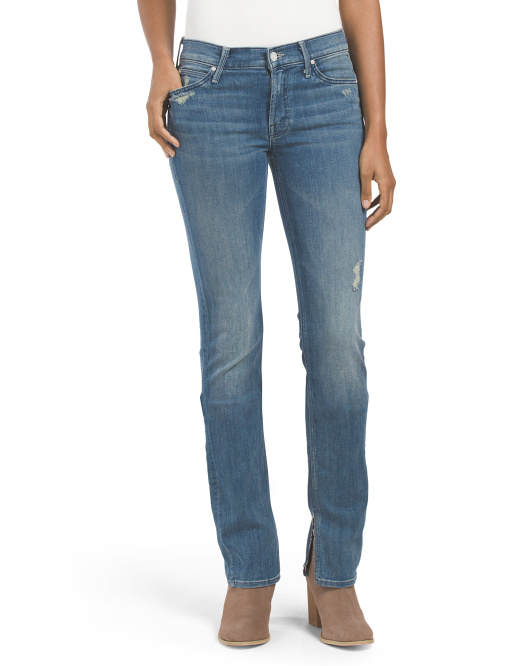 Made In USA Slit Rascal Graffiti Girl Jean