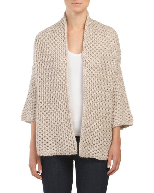 Made In Italy Knit Cardigan
