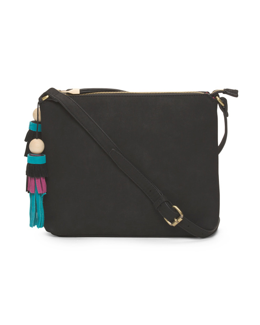 Luz Crossbody With Multi Tassel
