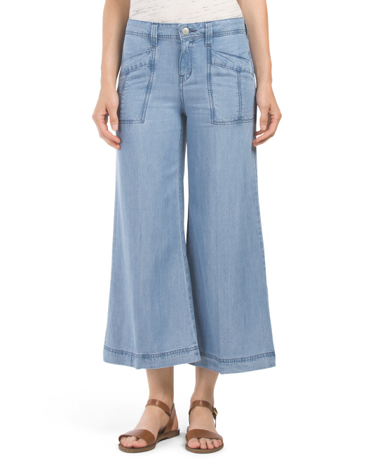 Made In USA Tencel Gaucho Pant