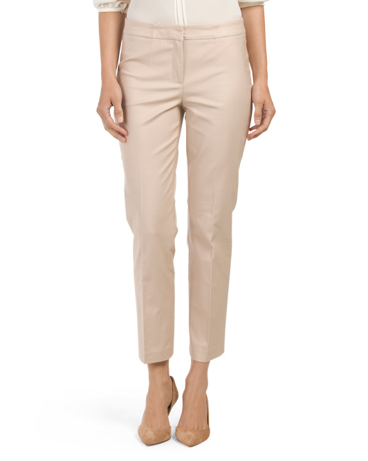 Front Zip Perfect Pant