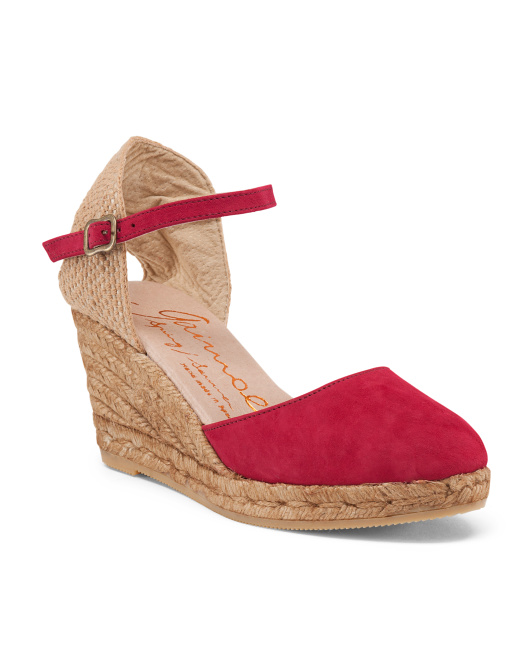 Made In Spain Espadrille Wedges