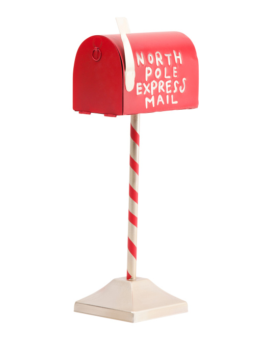 14in North Pole Express Mailbox