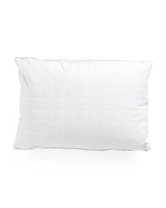 20x26 233tc Quilted Cotton Bed Pillow