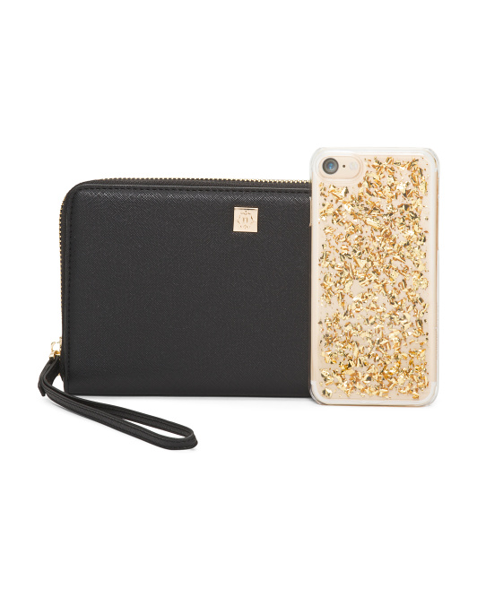 iphone Case And Clutch Set