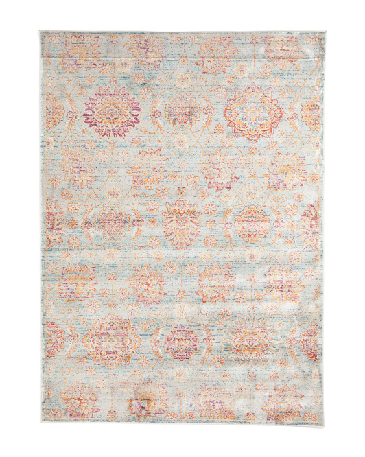 Traditional Persian Inspired Area Rug