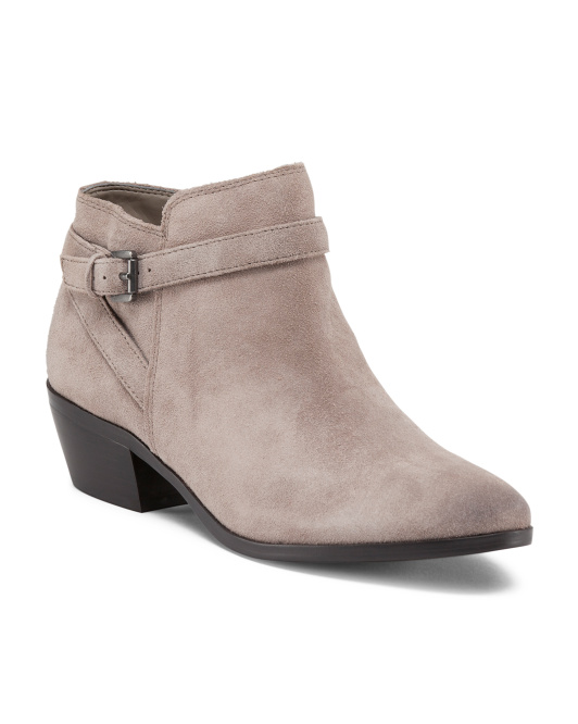 Pirro Suede Booties