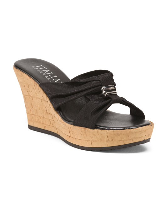 Made In Italy Platform Wedges