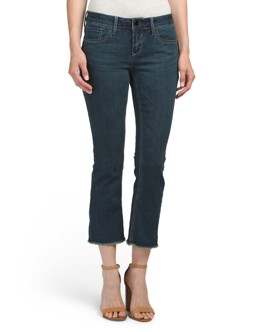 Ankle Duster Skinny Flare Jeans