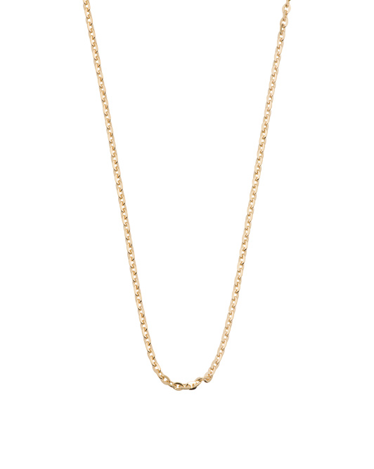 Made In Italy Sterling Silver Forzatine Diamond Cut Chain