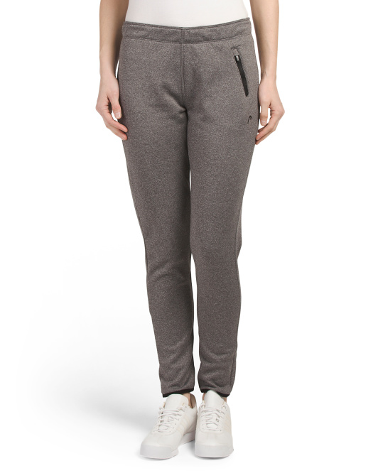 Track Pants With Elastic Trim