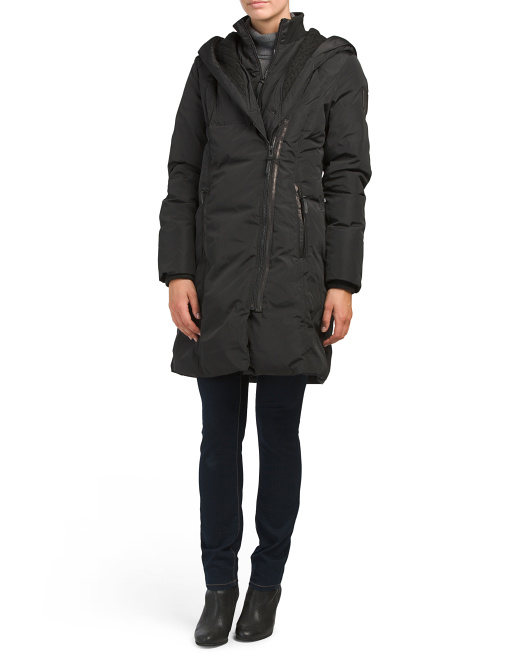 Charlie Asymmetrical Down Coat