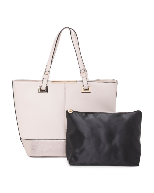Two Tone Large Tote