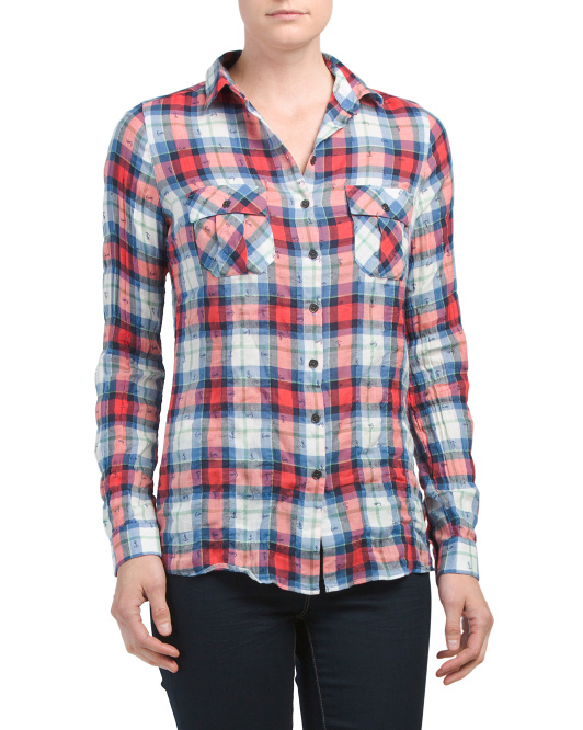 Hurstpoint Plaid Shirt