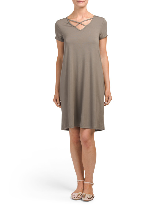 Sleeveless  Weekend Tee Dress