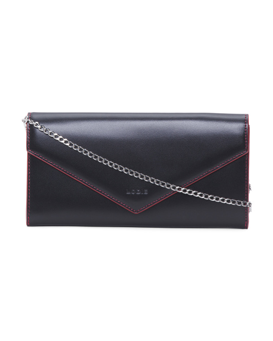 Audrey Nina Leather Crossbody