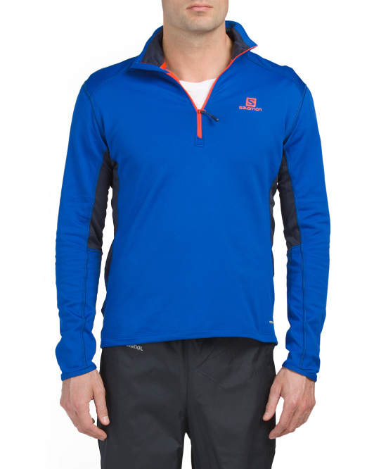Discovery Active Zip Top