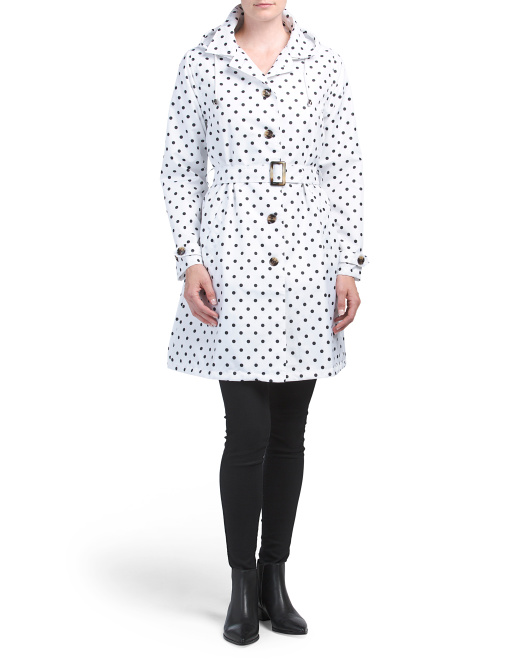 Classic Dot Trench Coat