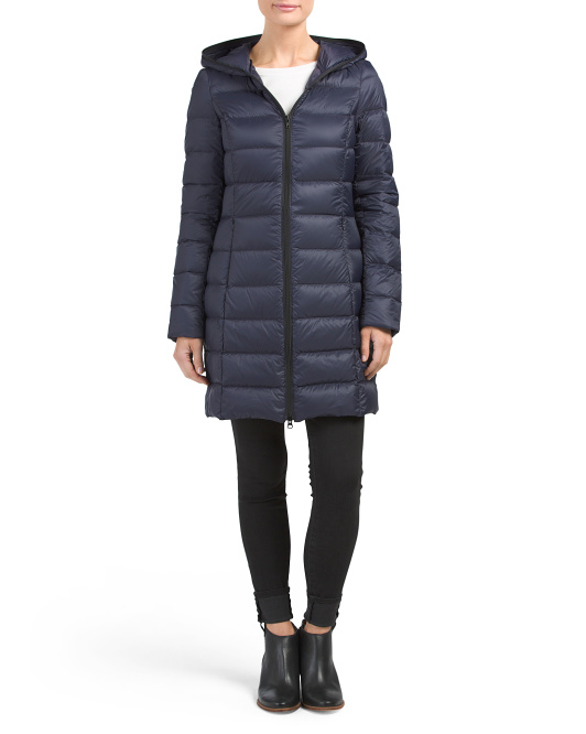 Maya 3/4 Packable Down Coat
