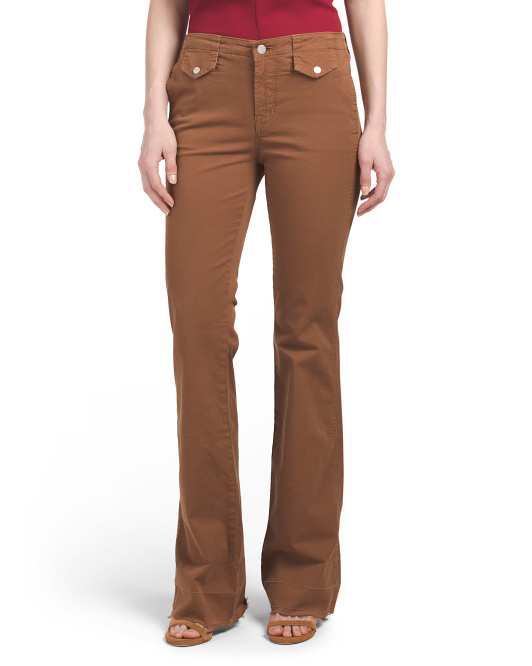 Made In USA Nia Mid Rise Flare Jeans