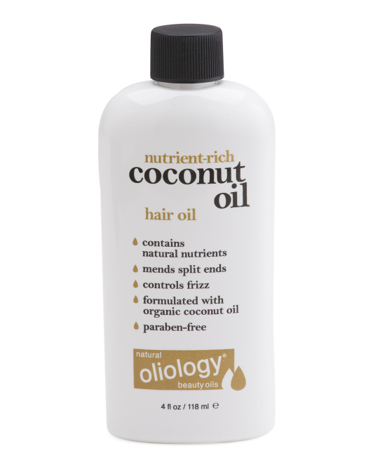 4oz Coconut Hair Oil