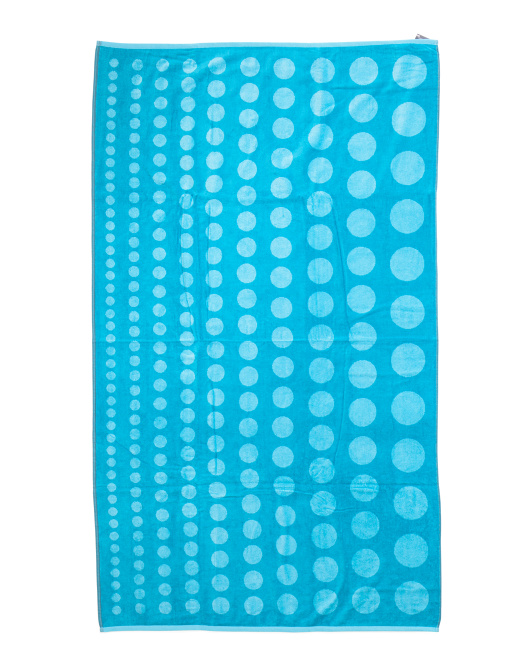 Made In Brazil Bubbles Beach Towel