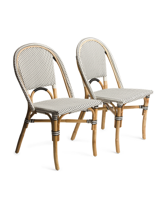Set Of 2 Outdoor Bistro Chairs