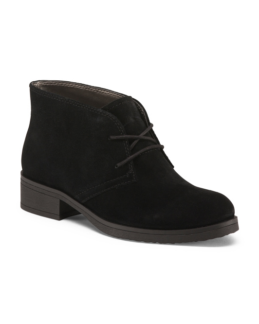 Lace Up Suede Chukkas