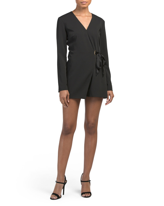 Riley Long Sleeve Romper