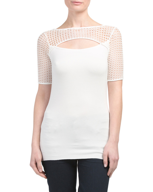 Made In USA Northan Circuit Cut Out Top