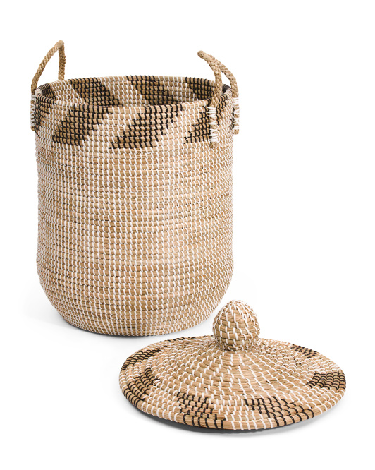 Arrow Seagrass Storage Basket