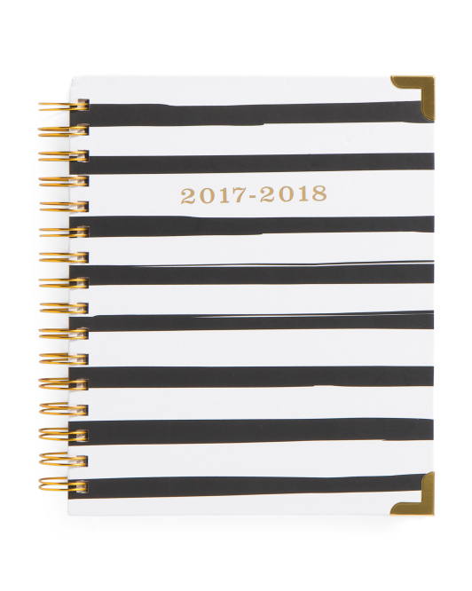 Striped 2017-2018 Academic Agenda