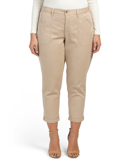 Plus Reese Relaxed Chino Pants