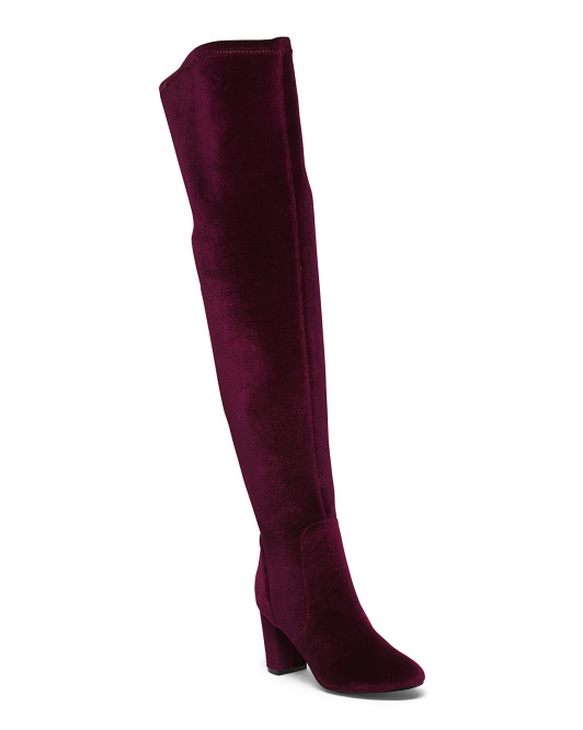 Thigh High Neoprene Backing Boots