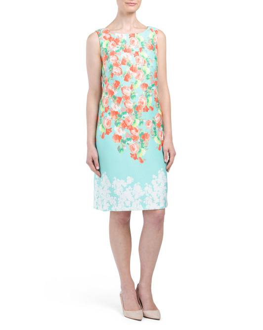 Floral Printed Shift Dress
