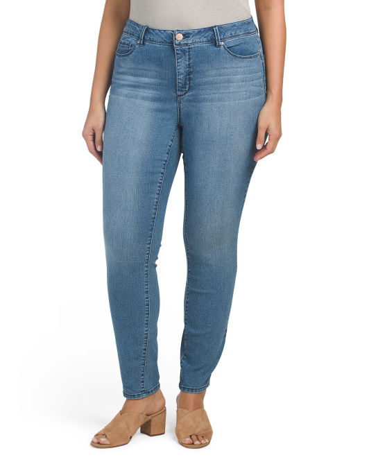 Plus Total Solutions Skinny Jeans