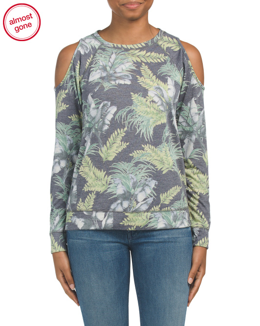 Made In USA Tropical Printed Top