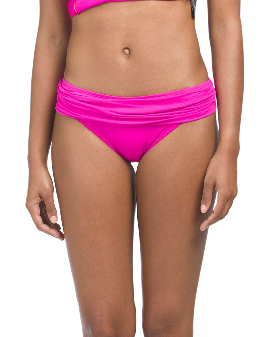 Island Shirred Band Hipster Bottom
