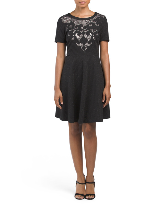 Wynne Short Sleeve Cocktail Dress
