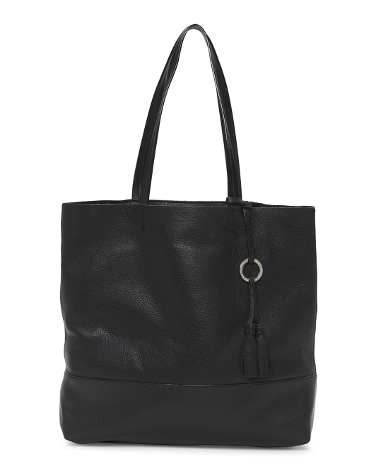 Drifter Leather Tote