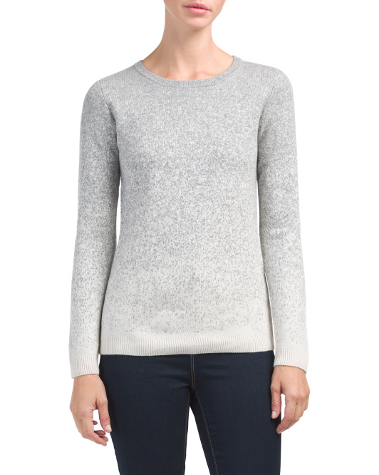 Speckled Ombre Cashmere Sweater