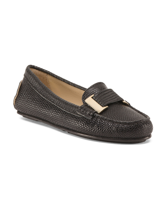 Made In Spain Leather Loafers