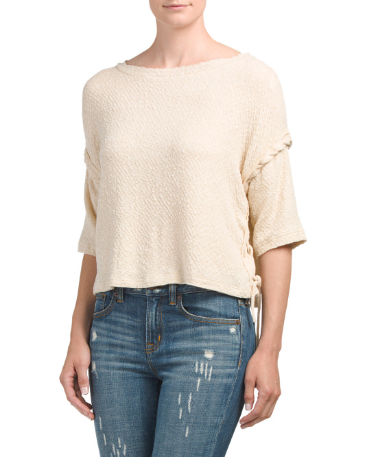 Juniors Made In USA Boxy Top