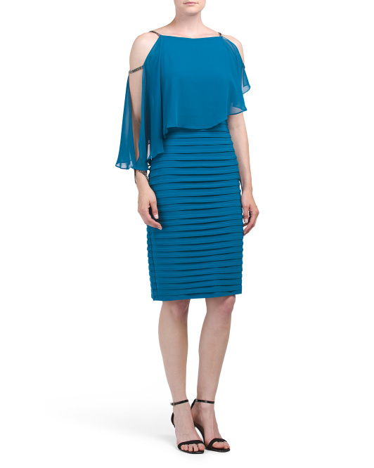Asymmetric Pop Over Dress