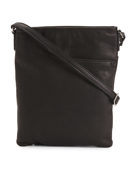 Radley Split Pocket Leather Crossbody