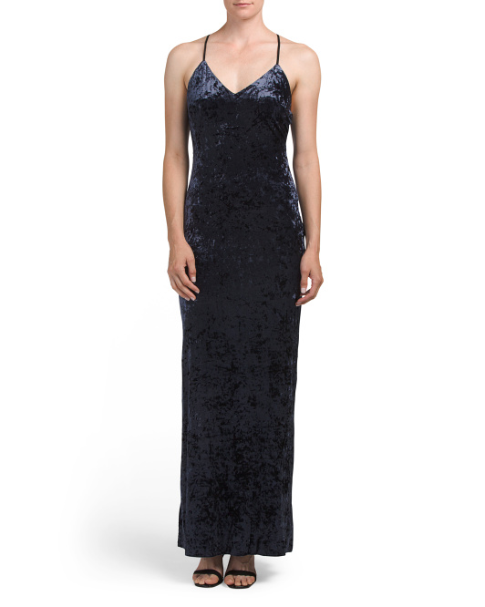 Rowena Velvet Maxi Dress